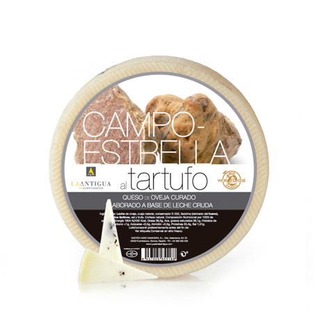 Queso Curado Tartufo Campo-Estrella - Distribuidor en Salamanca