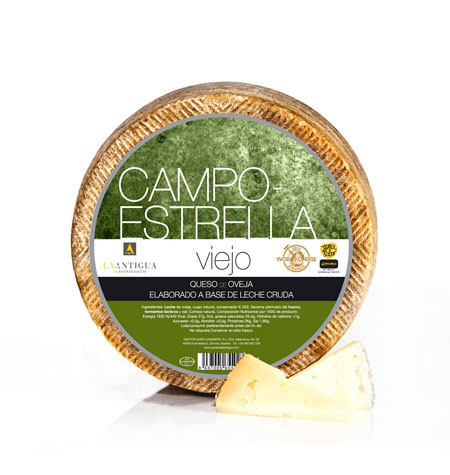 Queso Curado Viejo CampoEstrella - Distribuidor en Salamanca