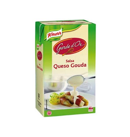 Queso Gouda Knorr Brik 1 Litro - Distribuidor en Salamanca