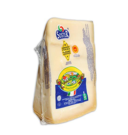 Queso Grana Padano Cuña 1kg - Distribuidor en Salamanca