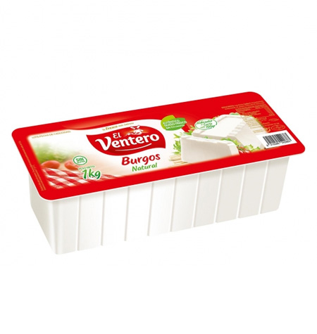 Queso fresco natural El Ventero 1 kg