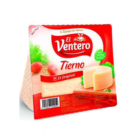 Queso tierno El Ventero cuña 250 gr