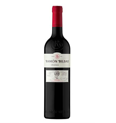 RAMON BILBAO Vino tinto crianza DOCa Rioja botella 75 cl