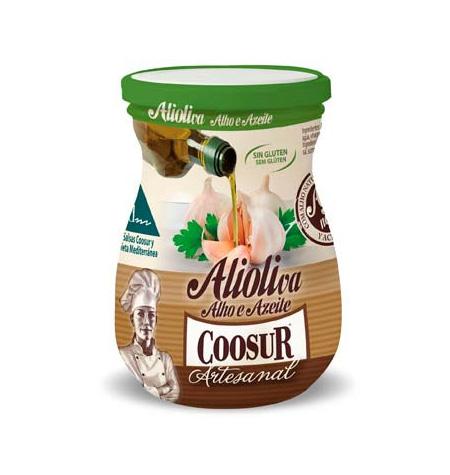 Salsa alioli Coosur tarro 225ml
