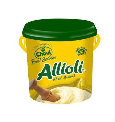 Salsa Alioli cubo 1kg - Distribuidor en salamanca