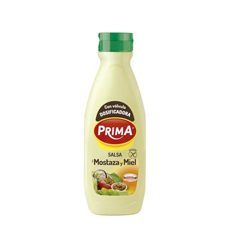 Salsa Mostaza y Miel Prima 725 ml - Distribuidor en Salamanca