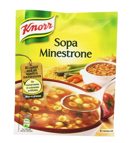 Sopa Minestrone Knorr 70 gr