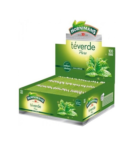 Té Verde Hornimans 100 Unds - Distribuidor en Salamanca