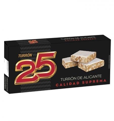 TURRON 25 DURO 250 GR