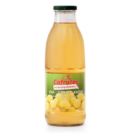 Zumo Mosto Uva 100% Botella 1 Litro