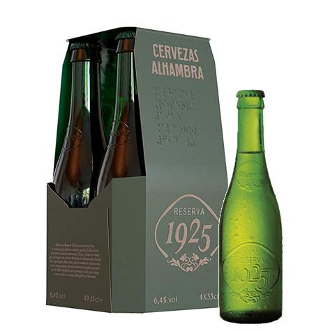 Cerveza Alhambra Reserva pack 4 botellines