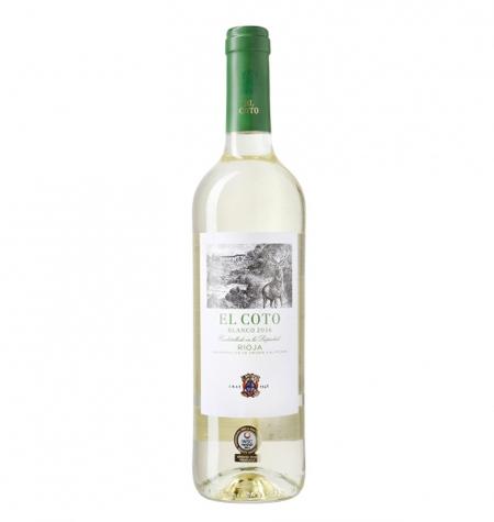 el coto vino blanco