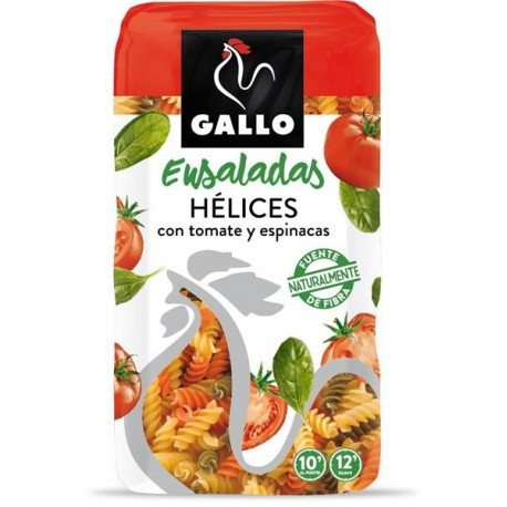Hélices vegetales Gallo 500 g