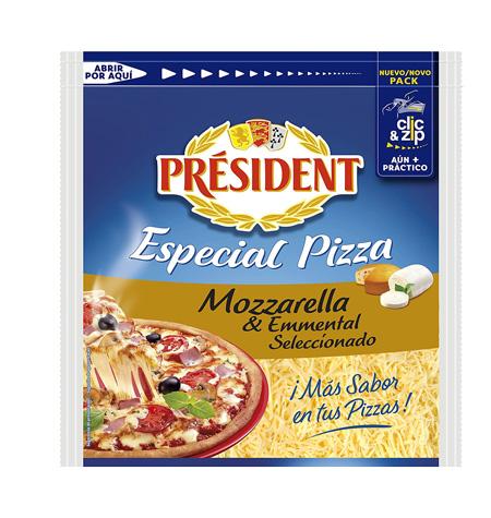 mozzarella rallada president 150gr
