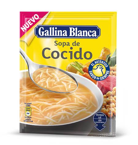Sopa de Cocido con fideos Gallina Blanca 70 g